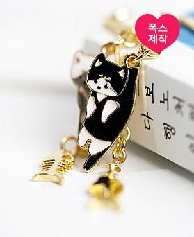 1049131 - <BK078> [handmade] cat book bookmark