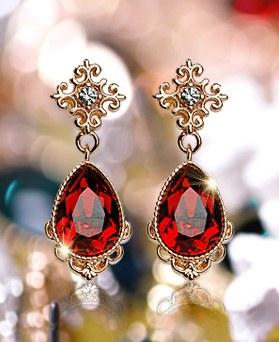 1049136 - <ER2177_DF08> [Swarovski] Sfia Swarovski earrings