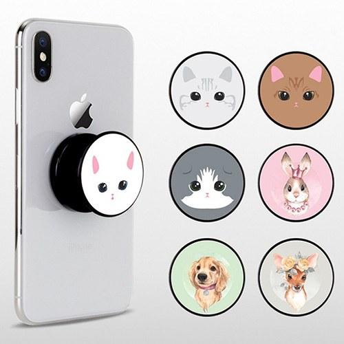 1049144 - <GR048> animal Face Illustration Smart Talk
