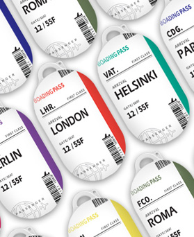 1049152 - <AP0504> Tricozy Design Buzz case plane ticket