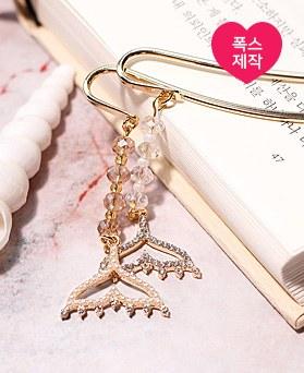1049161 - <BK082> [handmade] romantic tail bookmarks