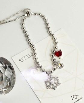 1049168 - <BC800_HF08> snow heart bracelet