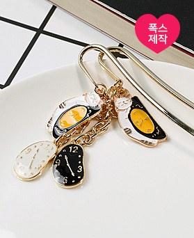 1049174 - <BK088> [handmade] Goodnight cat bookmarks