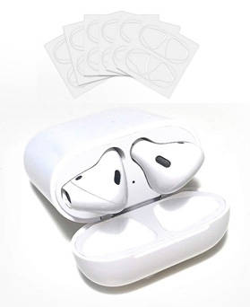 1049176 - <AP0482> [order runaway] 6 pieces of transparent & white AirPods anti-iron powder