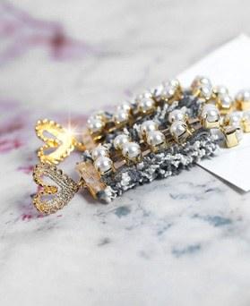 1049180 - <ER2180_IG01> Mighty pearl earrings