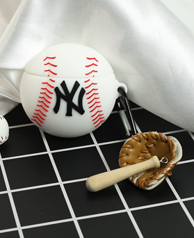 1049183 - <AP0514> Baseball AirPods Compatible Case