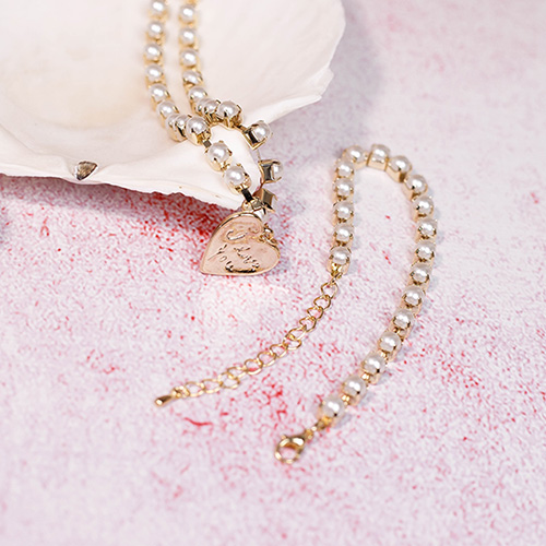1049198 - <BC802_IF13> lovely pearl line bracelet