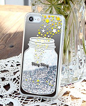 1049206 - <IP0059> bling bling bottle iphone compatible case
