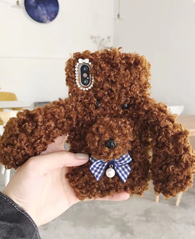 1049208 - <IP0060> ribbon toy poodle iphone compatible case