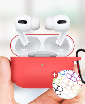 1049165 - <AP0508> Smoothie AirPods Pro Compatible case Iron Powder Sticker include