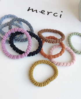 1049217 - <HA750_EC08> [10Piece 1set] Color Twisted ponytail