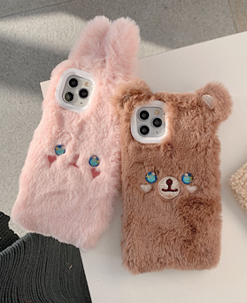 1049259 - <IP0063> Winnie and rabbit iphone compatible case