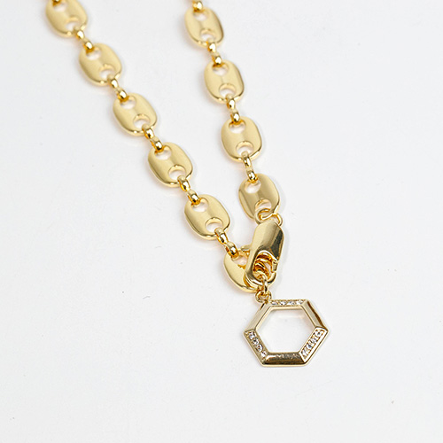 1049211 - <NE576_BA13> Trino necklace