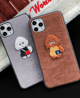 1049261 - <IP0064> Soft poodle iphone compatible case
