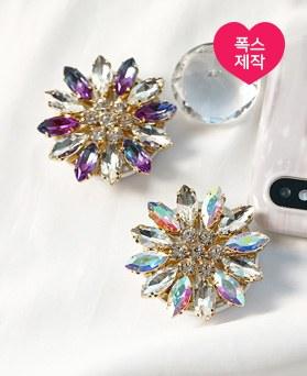 1049266 - <GR054> [handmade] shiny Flower crystal Smart Talk