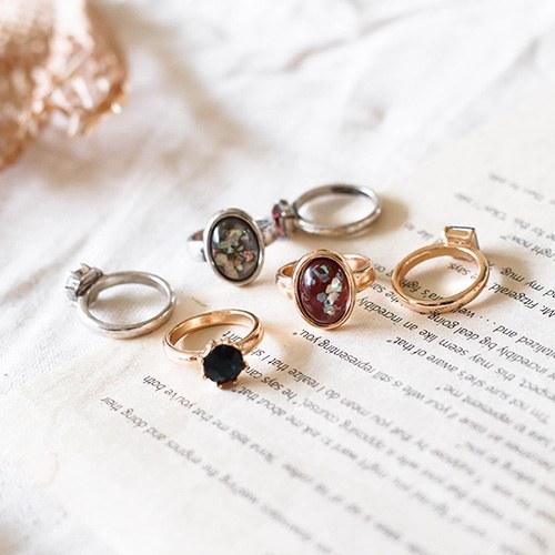 1049270 - <RI872_JE25> [3Piece 1set] antique Verita ring