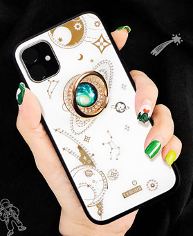 1049315 - <IP0069> bling Space Mounting iPhone Compatible Case