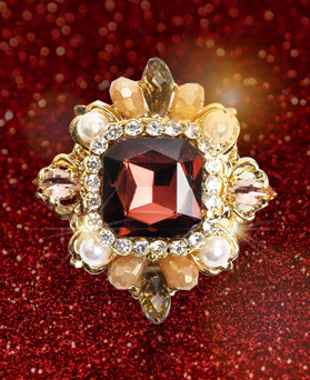 1049334 - <FI298_FA09> antique prospects brooch