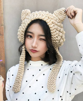 1049399 - Cat ear knit ear