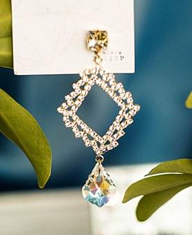 1049406 - <ER2193_CH11> Prime crystal earrings