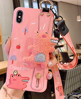 1049461 - Crocodile Doll Strap iPhone Compatible case