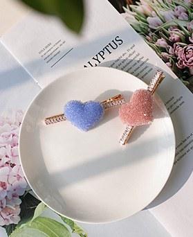 1049479 - <HA761_EB07> sweet candy heart hairpin
