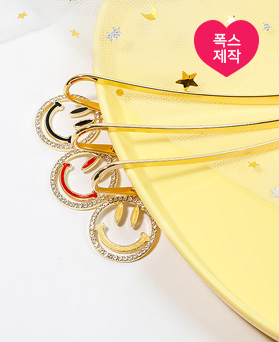 1049529 - [handmade] cubic smile Bookmark