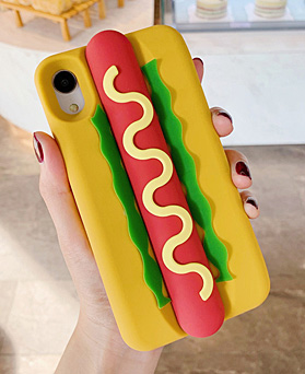 1049564 - Deli hot dog iphone compatible case