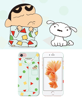 1049481 - [Crayon Shinchan genuine genuine pajama slim hard drive for iphone compatible case