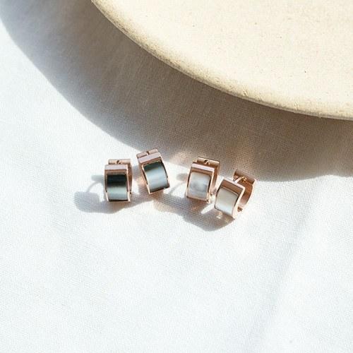 1049596 - <ER2234_GK09> [Stainless Steel] Easy Going earrings
