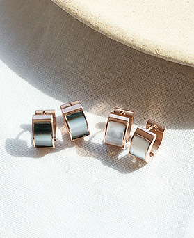 1049596 - <ER2234_GK09> [Stainless Steel] Easy Going earrings