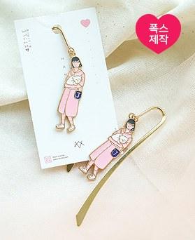 1049759 - <AP1042> [handmade] Pink Butler Bookmark