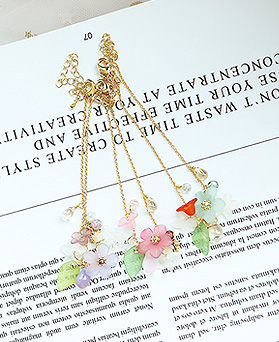 1049828 - <BC813_IE18> [handmade] Supia Flower bracelet