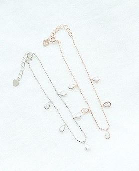 1049864 - <BC815_IE19> [Silver] Silver Gabi Waterdrop bracelet