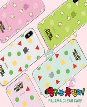 1049993 - [Genuine Genuine Genuine] I can't stop Shingu's pajamas clear iPhone compatible case