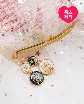 1050051 - <AP1017> [handmade] selene owl bookmark
