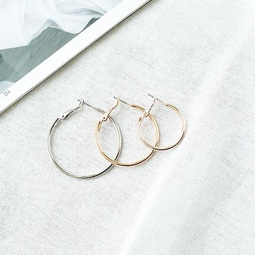 1050061 - <ER2248_CD07> [6Piece 1set] basic ring set earrings