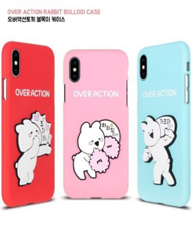 1050110 - [Genuine] Over Action Rabbit Convex iPhone Compatible Case