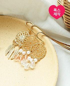1050158 - <AP1002> [handmade] cute dreamcatcher bookmark
