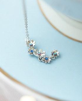 1050168 - <NE605_IF04> [Swarovski] Aramod Flower necklace