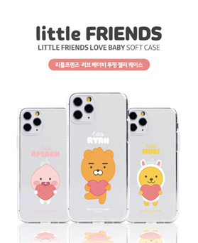 1050191 - [Genuine] Little Friends Love Baby Transparent Jelly iPhone Compatible case