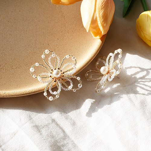 1050239 - Pros pearl earrings